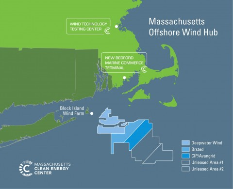Offshore Wind map