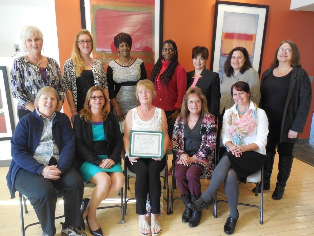 The first graduating class of the Successful Women in Clean Energy initiative.