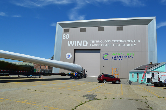 MassCEC's Wind Technology Testing Center in Charlestown