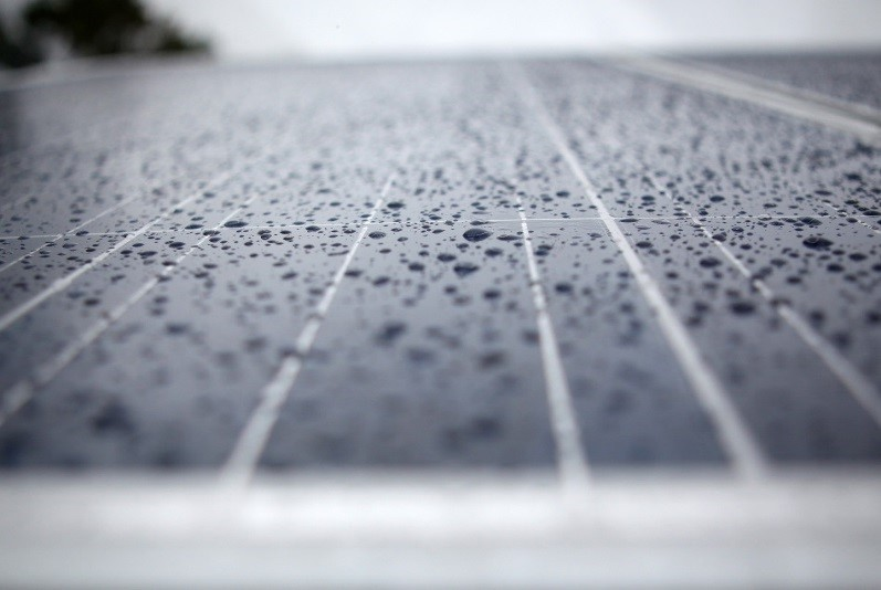 All-Weather Solar Cell