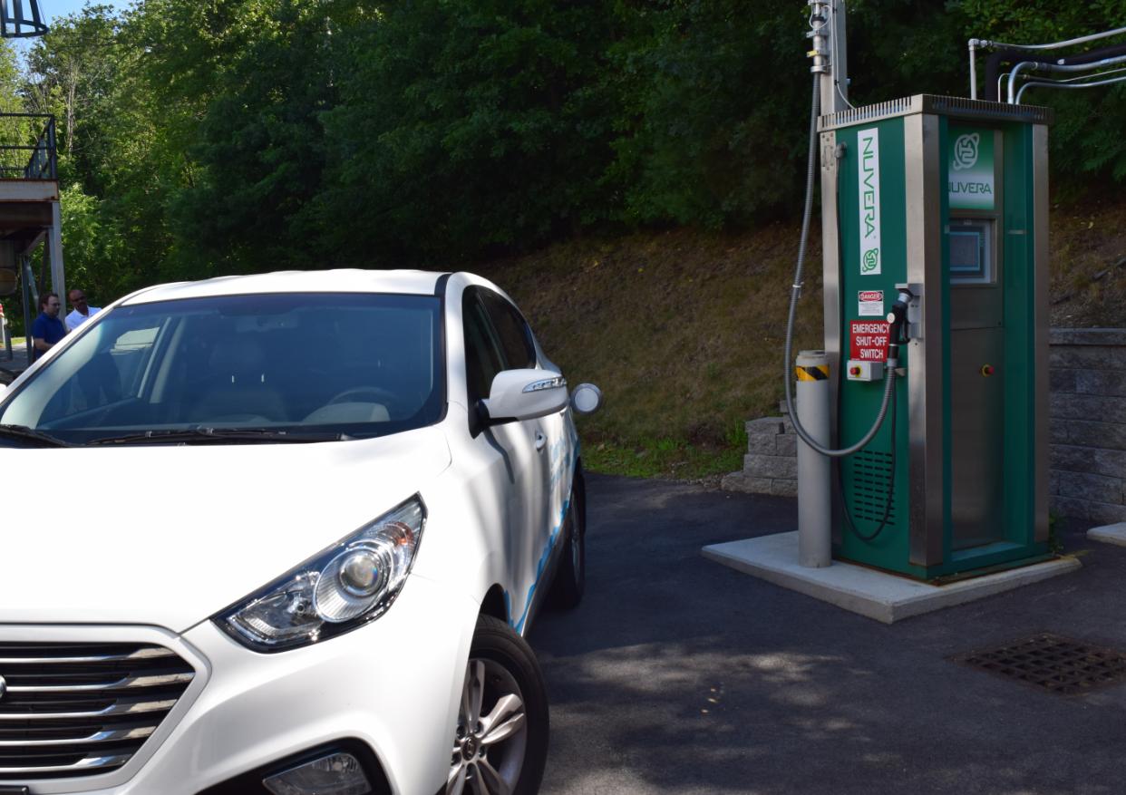Hydrogen fueling demonstration